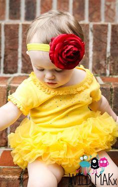Princess Belle Tutu Cute Couture Princess by birthdaycouture