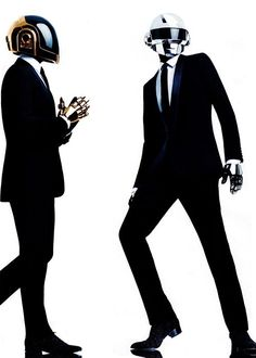 """Daft Punk. But seriously, when was the last time you saw someone in a robot mask and thought, """"Wow, what a dapper looking gentleman?"""""""