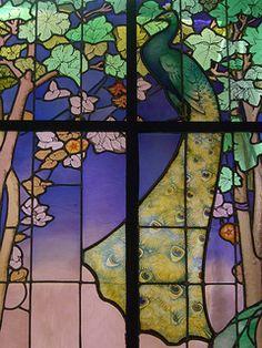 Vitrail dit de La salle (1904), Jacques Gruber - Musée de l'Ecole de Nancy (54) | by Yvette Gauthier