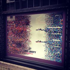 PIXEL PACK - #Nike X #LibertyPrint have taken flight in our windows