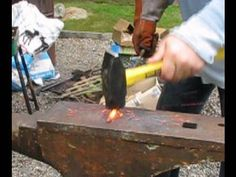 How to Draw out metal in blacksmithing
