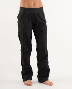 Lululemon's Quick Step Pant is great pre- or post-workout.