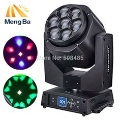 325.00$  Know more  - 7*15w RGBW 4-IN-1 beam light  OSRAM washing light DMX512 moving head light Professional Stage & Dj/Party/ Lighting Effect
