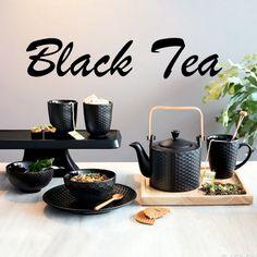 Alle Produkte aus der schönen Black Tea Kollektion von Asa Selection! #blackteacollection #asaselection #teatime #tee #blacktea #coledampfs