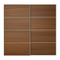 """IKEA - ILSENG, Pair of sliding doors, 78 3/4x92 7/8 """", -, , 10-year Limited Warranty. Read about the terms in the Limited Warranty brochure.Sliding doors allow more room for furniture because they don't take any space to open."""