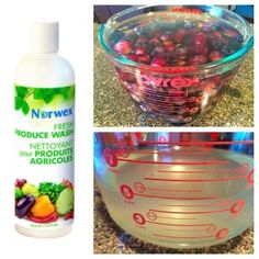 Is Your Produce REALLY Clean? It can be with the Norwex Produce Wash. #NorwexFreshWash #cleanfruitsandveggies