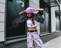 Outfit Inspiration- Pastel Camo Pants- Streetwear Unicorn