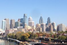 The Philadelphia skyline from the South Street Bridge in October Photo by Christopher Wink Philadelphia Skyline, Visit Philadelphia, The Places Youll Go, Places To Go, Brotherly Love, Jersey Girl, Pennsylvania, San Francisco Skyline, Tourism