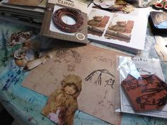 Fasters korthus: Child picture, Decoupage