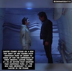 Princess Leia/General Organa-Solo was MY exact height?!?! ☺️☺️☺️
