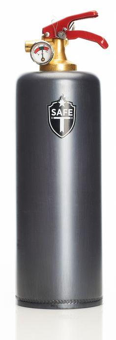 Safe-t fire extinguisher, gun barrel Fire Extinguisher, Flask, Barrel, Gun, Outdoor, Design, Outdoors, Barrel Roll