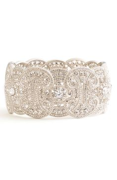 Nadri Large Hinged Bangle