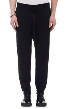 HELMUT LANG Ottoman-Stitched Cotton-Blend Slim Jogger Pants. #helmutlang #cloth #pants