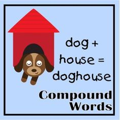 Compound Words Literacy Stations, Literacy Activities, Literacy Centers, Speech Language Pathology, Speech And Language, Word Study, Word Work, Teaching Manners, Teaching Ideas