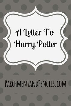 A letter to the boy who lived. The guide of my childhood. Mr. Harry James Potter. To you, I write a letter for your birthday.  Written: 1st August 2017