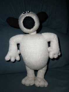Gromit is designed by Alan Dart by Marionsknittedtoys on Etsy, $30.00