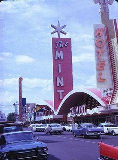cars on the street — fifties-sixties-everyday-life: Las Vegas, Vintage Shops, Vintage Cars, Mid Century Furniture, Mid Century Design, Midcentury Modern, Old Hollywood, Vintage Decor, Old Photos, Vintage Inspired