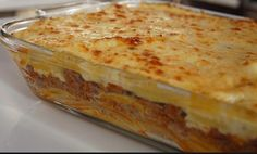 Fish Tacos, Lasagna, Kai, Food And Drink, Cooking Recipes, Pudding, Ethnic Recipes, Desserts, Greeks
