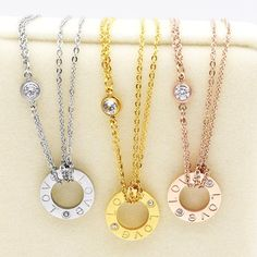 #Necklace - Wear LOVE around your neck.  #gifts #jewelry #fashion