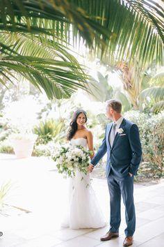 Wedding portrait  / Terranea Resort wedding