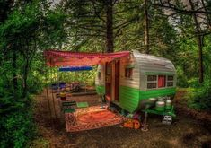 off 600x421 Living off the grid in travel  with caravan camping break Looks so serene. Beautiful.