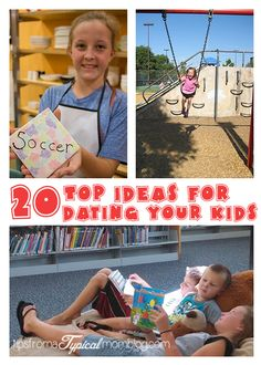 20 Ideas for Going Out with Your Kids #parenting #datingyourkids #family