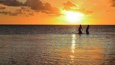 Curacao sunset.
