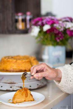 Clavel's Cook: Bolo da Prima {Molotof de Caramelo} - Receita da Avó Lurdes