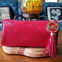 Auth Michael Kors Cosmetic Bag
