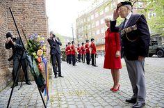 Prinses Irene bij herdenking 70 jaar bevrijding Den Haag (fotoserie) - Koninklijk huis - Reformatorisch Dagblad