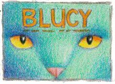 """Even after the rough color sketches were done for the Blucy cover, after more conceptualizing, a new composition was created for Blucy. Starting to look familiar?"" -- Erika LeBarre www.facebook.com/BlucyTheBlueCat Blue Cats, Erika, Composition, That Look, Sketches, Facebook, Cover, Illustration, Fictional Characters"