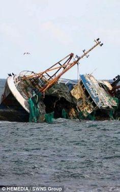 Scottish Shipwreck.