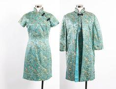 Vintage 60er Jahre Kleid SET / 1960er Jahre von LuckyDryGoods