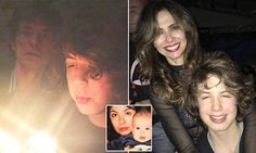 Mick Jagger visits son Lucas 18th birthday party in Brazil | Daily Mail Online