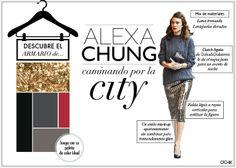 Alexa Chung vestida con look de Marc Jacobs.  Más en www.ochik.com