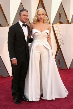 Taylor Kinney y Lady Gaga.
