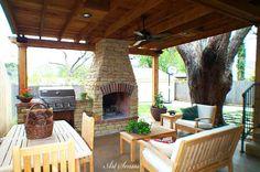 Зидано барбекю или пещ в градината | Art senses – артистични идеи за интериор и градина.