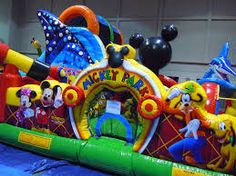 Mickey Mouse Clubhouse Toddler Bounce House
