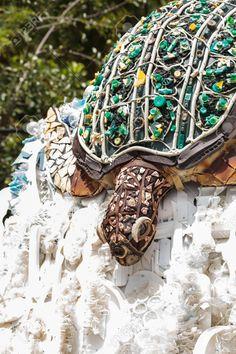 Naples, Florida, USA – July Sculpture called Natasha the Turtle made . - Naples, Florida, USA – July Sculpture called Natasha the Turtle made of plastic waste fo - Naples Zoo, Naples Florida, Florida Usa, Waste Art, Marine Debris, Recycled Art Projects, Trash Art, Plastic Art, Cycling Art