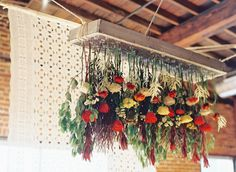 Floral Chandelier // Cassidy Carson Photography // Rosemary & Finch Floral Design