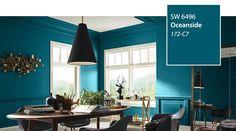 SW - Color of the Year 2018 - Oceanside SW 6496 - slide 4