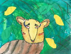 Art lesson plans are a great resource for elementary art lesson plans for art teachers looking for fun ideas. Featuring art lessons for Kindergarten - graders. Watercolor Sunset, Watercolor Bird, Watercolor Artwork, Elementary Art Lesson Plans, Tiger Artwork, Tree Collage, Mondrian Art, Jungle Art, Picasso Art