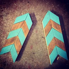 Chevrons, Arrows and Wall Art - 502 pallet project