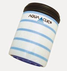 Spart bis zu 50% Wasser und Energie am Wasserhahn: AquaClic Schlumpf aus Messing.