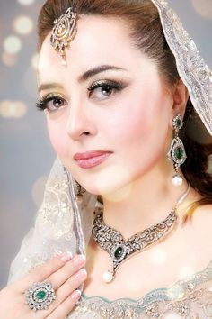 Stani Designer Maria B On Her Wedding Day Love Jewellery Bridal