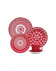 Oxford Porcelanas - Floreal Renda