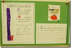 Pumpkin Seed Activities for First Grade