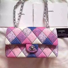 Chanel 2.55 double flap limited edition pink