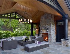 #patio This is an amazing covered patio!