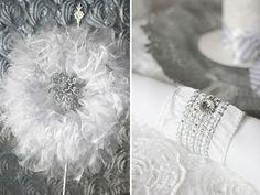 Trend Alert: All White Bridal Showers {+ Winter Theme}